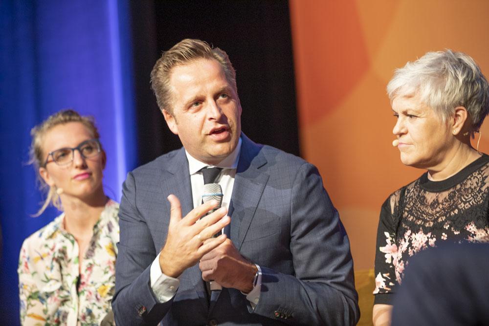 Minister Hugo de Jonge tihv19