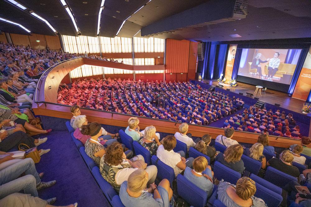 plenaire zaal RAI congres Tihv19