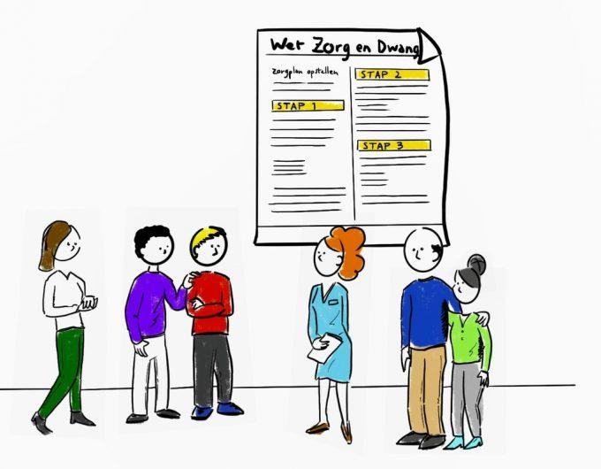 Afbeelding bij 'Onvrijwillige zorg - wat zegt de Wet zorg en dwang?'