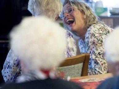 Afbeelding bij 'Genieten! Circusvoorstelling bij Zorggroep Apeldoorn'