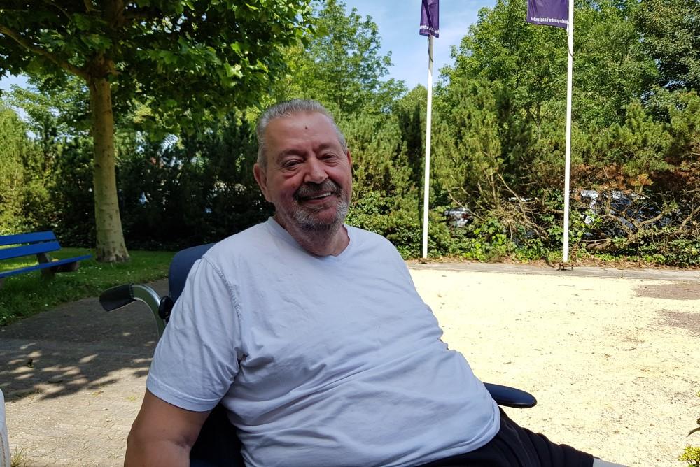 Bewoner Evert van der Valk