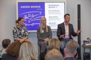 Panel over Anders werken in de zorg door technologie tijdens relatiedag Vilans