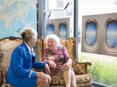 Afbeelding bij 'KLM-personeel re-integreert als vrijwilliger bij Evean'