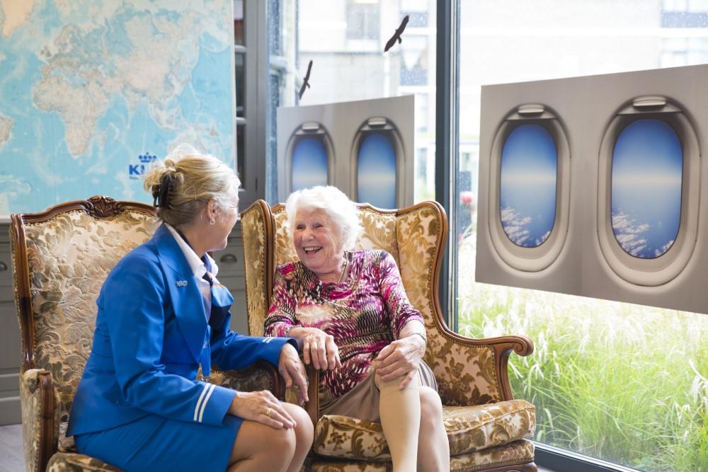 Eduard Douwes Dekker KLM samenwerking