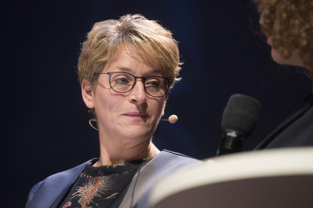 Marika Biacsics van het NCZ op congres cliëntenraden 2018