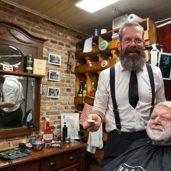 Afbeelding bij 'Tijd voor de heren: samen naar de barbier'