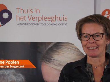 Afbeelding bij 'Videoserie Leiderschap in het verpleeghuis: Aline Poolen (ZorgAccent)'