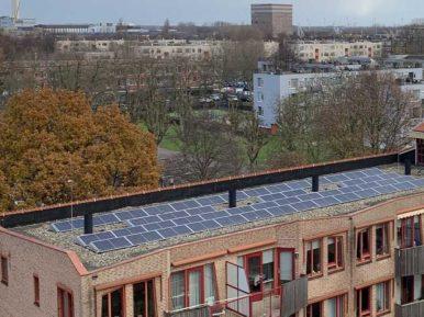 Afbeelding bij '400 zonnepanelen op dak Reinaldahuis'