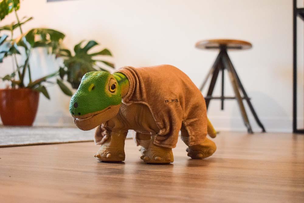 Dino Dirkje in het Zorg Innovatie Huis