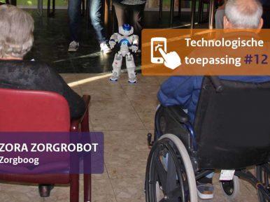 Afbeelding bij 'Zorgrobot Zora kan bewoners enthousiasmeren en meekrijgen'