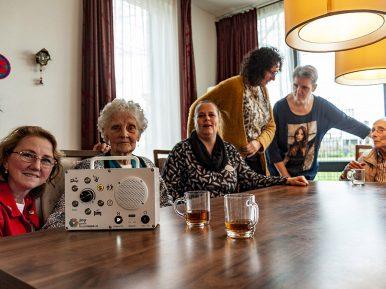 Afbeelding bij 'Muziek-methodiek zorgt voor soepele zorg en gelukkige bewoners'