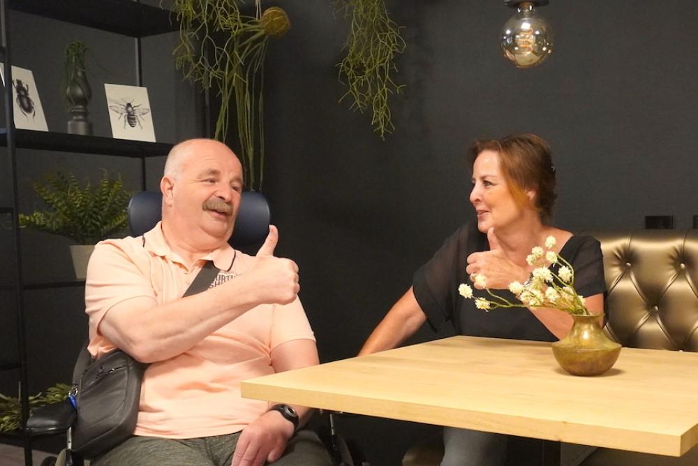 Martin en Lucienne pluspunten bezoekregeling Omring