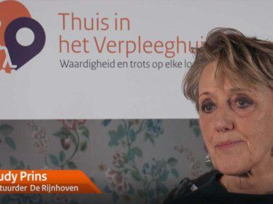 Afbeelding bij 'Videoserie Leiderschap in het verpleeghuis: Trudy Prins (De Rijnhoven)'