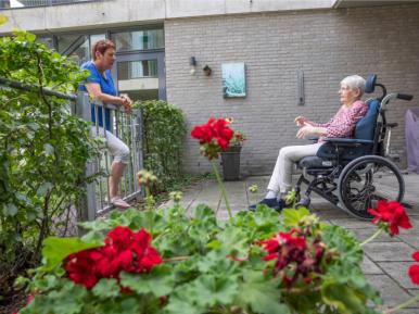 Afbeelding bij 'Webinar VWS en IGJ: geleerde lessen bezoekregeling verpleeghuizen'