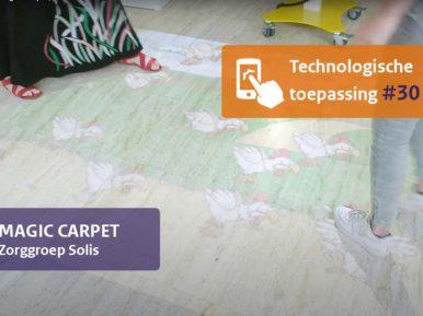 Afbeelding bij 'Spellen en beelden projecteren met de Magic Carpet'