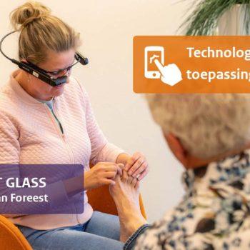 Afbeelding bij 'Videocommunicatie via de Smart Glass'