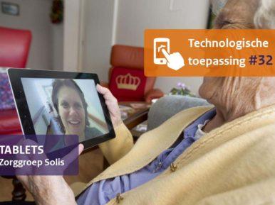 Afbeelding bij 'Muziek, spellen en beeldbellen via tablets'
