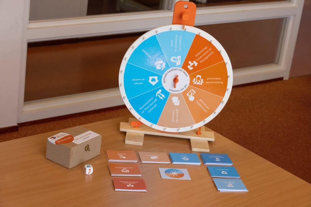 Spel Rad van kwaliteit over het Kwaliteitskader Verpleeghuiszorg