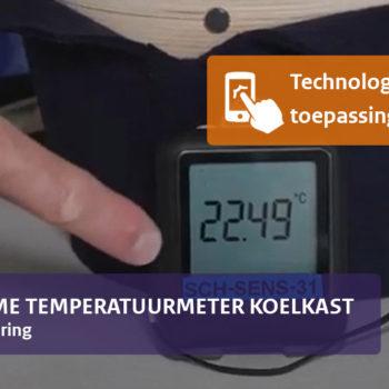 Afbeelding bij 'Betrouwbare meting van de koelkasttemperatuur'