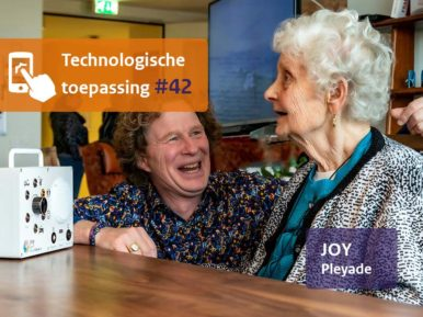 Afbeelding bij 'Prettiger zorgen met de juiste muziek op het juiste moment door Joy'