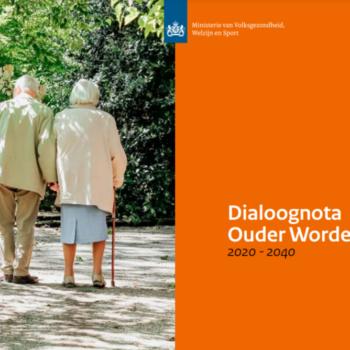 Afbeelding bij 'Dialoognota Ouder worden 2020-2040 na veldraadpleging aangeboden aan Tweede Kamer'