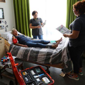 Afbeelding bij 'Digitale dokterstas houdt meer bewoners buiten het ziekenhuis'