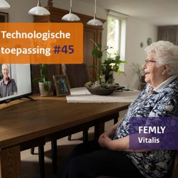 Afbeelding bij 'Femly: Beeldbellen via de televisie'