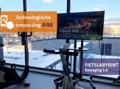 Afbeelding bij 'Virtuele fietstochten maken met Fietslabyrint'