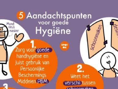 Afbeelding bij 'Vijf tips over hygiëne voor zorgmedewerkers'