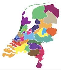 Waardigheid en trots in de regio landkaart