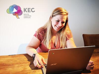 Marlies Hubers deelt haar kennis als KEC-consulent in Kennemerland.
